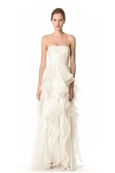 Reem Acra off-white Gown - for the modern debutante