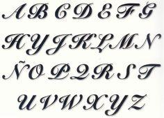 letras bonitas manuscritas - Pesquisa Google