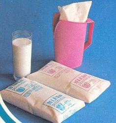 milk in a bag