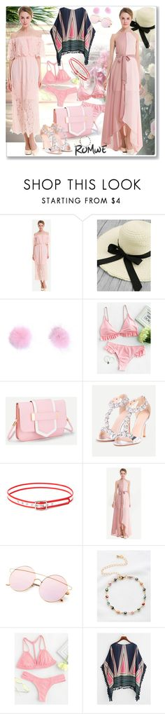 """www.romwe.com-XLVI-6"" by ane-twist ❤ liked on Polyvore featuring romwe, outfits and sumer"