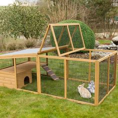 Having rabbits as a pet is quite easy, since they take very little to eat and can groom themselves. If you ever think of raising rabbits; then you'll need to take a look at these DIY rabbit hutch plans & ideas, as your very first start. Rabbit Hutch Plans, Outdoor Rabbit Hutch, Indoor Rabbit, Rabbit Hutches, Diy Bunny Cage, Bunny Cages, Rabbit Cages, Rabbit Cage Diy, Rabbit Run