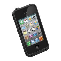 LifeProof's cases for iPhone 4 / 4S  allow you to surf, sing in the shower, ski, snowboard, work on construction sites and have true mobile freedom anywhere you go!