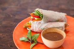 Vietnamese Spring Rolls with Slow Cooker Pork ~ http://steamykitchen.com
