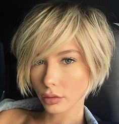 Here are 20 trendy short haircuts for fine hair, from Short-Haircut: If you hav. Here are 20 trendy short haircuts for fine hair, from S. Angled Bob Haircuts, Haircuts For Fine Hair, Pixie Haircuts, Uneven Bob Haircut, Lob Haircut, Short Hairstyles Fine, Trendy Hairstyles, Amazing Hairstyles, Hairstyles 2016