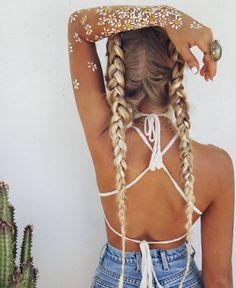 15 Best Boho Chic Women's Coachella Festival Outfit Festival Looks, Festival Style, Coachella Festival, Festival Fashion, Coachella Style, Coachella Lineup, Boho Festival Makeup, Coachella Hair, Festival Trends