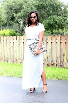 "H&M Maxi Dress ""Easy Breezy"""