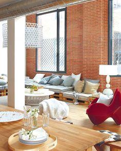 Spanish Loft Interior | Miss Design | Miss Design