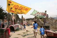 Looking for a fun destination for the whole family? Visit The Adventure Playground?  #FamilyFuninBerkeley