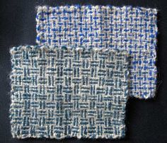 Ruth's weaving projects: Colour and Weave experiments (phase 1)