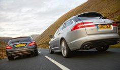 Mercedes CLS Shooting Brake and Jaguar XF Estate