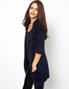 Fluffy Oversized Cardigan