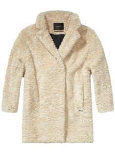 L:C Staff Faves | Maison Scotch Fur Coat