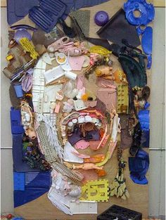 Phenomenal Junk Portraits : Tom Deininger