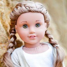 #leaclarc#goty2016 All American Girl Dolls, American Girl Doll Pictures, American Doll Clothes, Girl Doll Clothes, Barbie Clothes, Ag Dolls, Cute Dolls, American Girl Hairstyles, Lea Clark