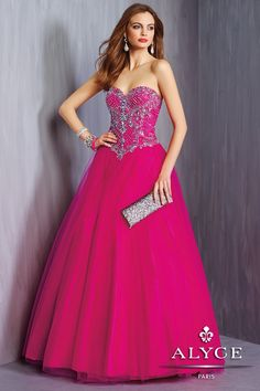 Alyce Prom Dress Style #6324 Full View