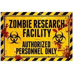 (13x19) Zombie Research Facility Sign Poster Print Poster http://www.amazon.com/dp/B0061RM8ZQ/ref=cm_sw_r_pi_dp_-DPHvb0FN8Q4H