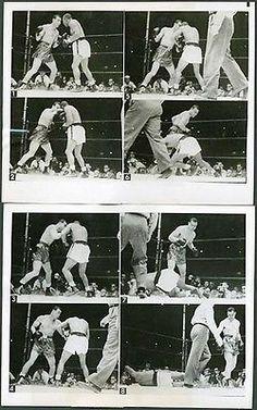1948-Joe-Louis-vs-Jersey-Joe-Walcott-Magic-Eye-Camera-Original-B-amp-W-Wire-Photo