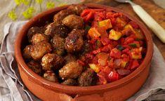 Kjøttboller og ratatouille