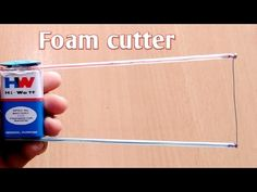 How to make foam cutter at home. How To Make Foam, Foam Factory, Cnc Plasma Cutter, Foam Cutter, Hobby Cnc, Hobbies For Couples, Hobby Trains, Electrical Projects, Model Train Layouts
