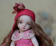 :: Crafty :: Doll :: Коллекционные куклы ручной работы. Ярмарка Мастеров - ручная работа. Купить Люсиль. Handmade. Розовый, фарфор