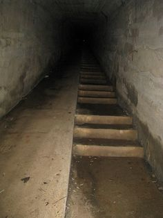 "WAVERLY HILLS SANATORIUM, Louisville, KY. The ""Body Chute"" was used to remove dead bodies in secret."