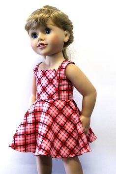Geometry Class Dress Doll Clothes to fit Australian by Debsterkay