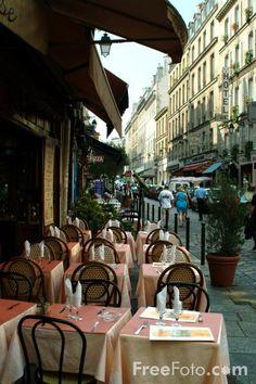Latin Quartier,Paris,France