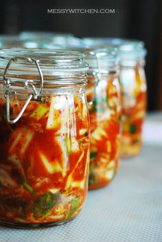 Kimchi Making   Kimchi is said to be one of the top 5 health food of the world. It is a superfood because it cuts cancer risk, lowers cholesterol and aids digestion.