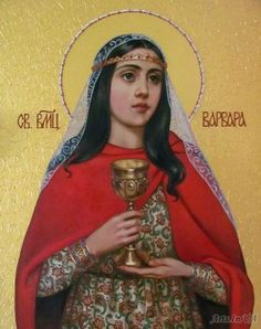 Religious Icons, Religious Art, South Indian Heroine, Grow Up People, Bible Timeline, Saint Barbara, Church Icon, Russian Icons, Religious Paintings