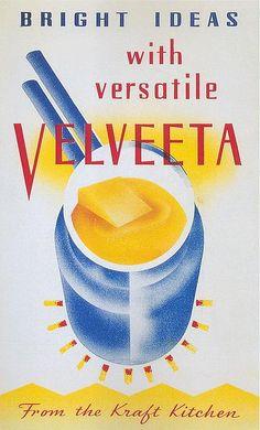 Vintage Ad for Velveeta