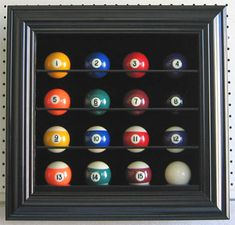 Billiard / Pool Ball Display Case