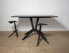 Set 02 Stool and Table Design by Matej Chabera #furniture #interior #home #decor #design
