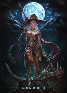 fantasy Art Now Fantasy Witch, Dark Fantasy Art, Anime Fantasy, Fantasy Girl, Fantasy Artwork, Witch Art, Fantasy Kunst, Fantasy Warrior, Fantasy Women