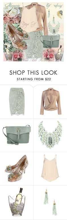 """Days Of Wine And Roses"" by sharee64 ❤ liked on Polyvore featuring Miguelina, Meli Melo, Alice + Olivia, Kitchen Craft, Cara Couture and LeiVanKash"