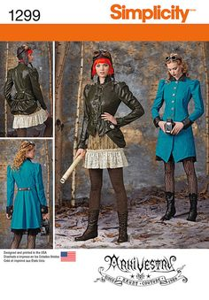 G - Shouldn't we make this blue coat for you???   Simplicity 14-16-18-2-Misses Costume