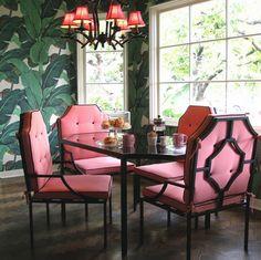 "SAINT luxe maison decor: Iconic: ""Martinique,"" The Banana Leaf Pattern"
