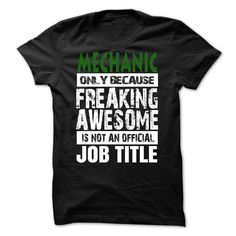 mechanic JOB TITLE T Shirt, Hoodie, Sweatshirt