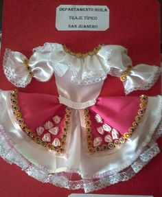 Traje tipico del departamento del huila SANJUANERO COLOMBIA;-) Girls Dresses, Flower Girl Dresses, Wedding Dresses, Ideas, Fashion, Paper, Outfits, Suits, Ethnic Dress