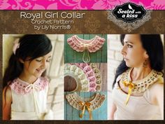 Royal Girl Collar Crochet Pattern