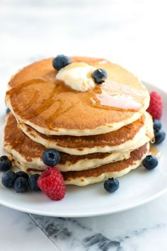 How to Make Our Easy Pancakes from Scratch