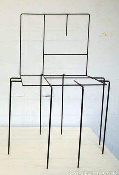 The 17-legged chair