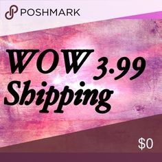 3.99 shipping till Monday deals Great time to shop don't miss out on this special shipping price 3.99 shipping till Monday happy 4th July 15%off bundles Other