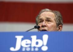 جرج بوش؛ آخرین تیر خشاب تبلیغاتی جب بوش