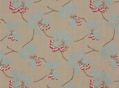 Amaia Strawberry - Romo Fabrics from Seneca Designmade Christchurch & Wellington.