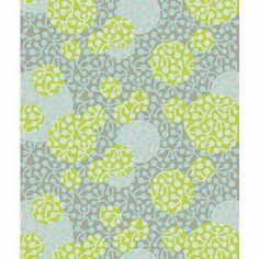 Marimekko Kirsikka Blue/Green Upholstery Fabric