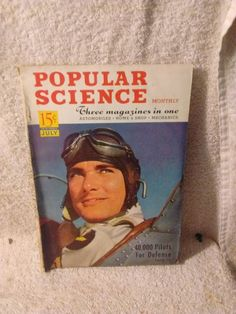 Popular Science Magazine July 1941 #PopularScience