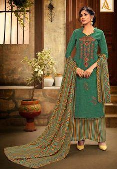 Alok Suit Presents Shan-e-punjab Pashmina Patiyala Suit Collection Patiyala Suit, Rayon Kurtis, Pashmina Shawl, Print And Cut, Salwar Suits, Winter Collection, Suits For Women, Chiffon, Saree