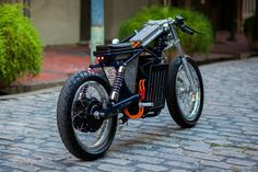 Savage from Night Shift Bikes - electric cafe racer