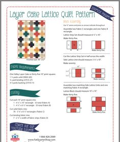 Charm Pack Quilt Patterns, Layer Cake Quilt Patterns, Lap Quilt Patterns, Layer Cake Quilts, Jelly Roll Quilt Patterns, Layer Cakes, Cute Quilts, Lap Quilts, Quilting Tutorials