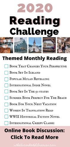 Are you looking for a 2020 reading challenge? Take the Uncorked Reading Challenge with books to inspire travel and diverse, international reads. Great Books To Read, I Love Books, Good Books, Book Challenge, Reading Challenge, Book Club Books, Book Lists, Book Clubs, Book Suggestions